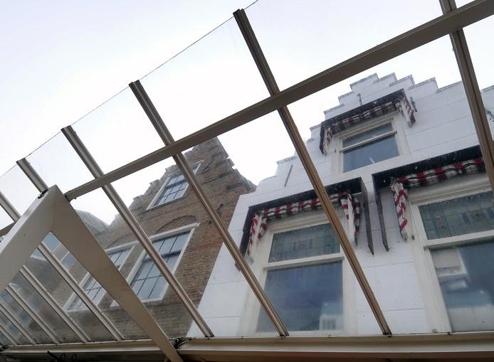 Panden - niet per se zoals bedoeld in het artikel - in de Walstraat in Vlissingen. Foto Ruben Oreel