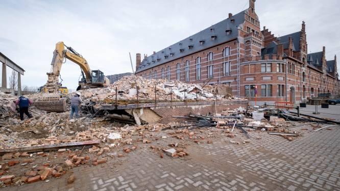 Nieuw stapje in ontwikkeling Keerdoksite: Entrepotgebouw tegen de vlakte