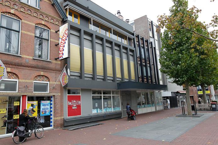 De voormalige bibliotheek aan de Markt in Helmond.