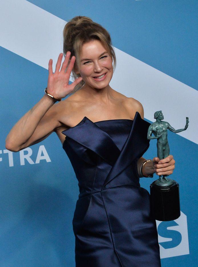"""Renée Zellweger a remporté le prix de la meilleure actrice pour son rôle dans """"Judy""""."""