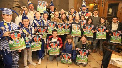 CARNAVAL HALLE: Twaalf jongens en meisjes met ''t zot in den bol' doen mee aan Mini Prinsenverkiezing tijdens Kindercarnaval