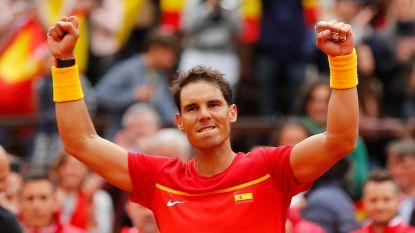 Spanje en Duitsland na dag 1 in evenwicht in kwartfinale Davis Cup