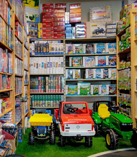 Speciale speelgoedwinkels: 'Kinderen blijven vaak hangen'