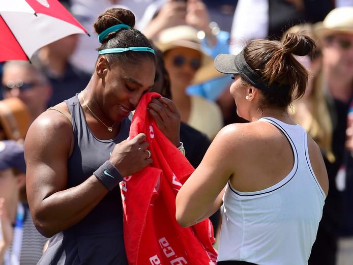 Serena Williams et Bianca Andreescu.