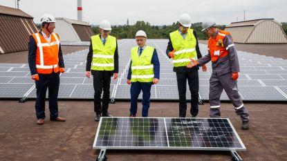 ArcelorMittal opent grootste zonnedak van België