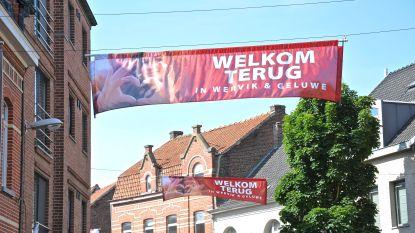 """""""Welkom Terug in Wervik en Geluwe"""": nieuwe vlaggen kleuren de centrumstraten"""