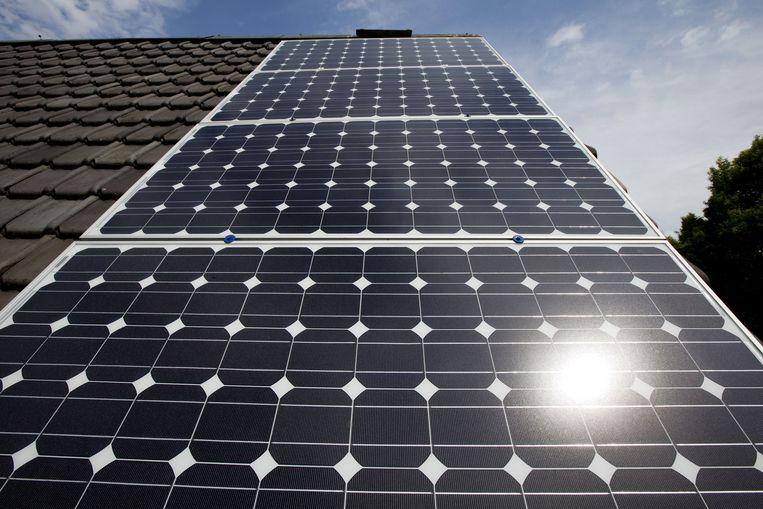 Zonnecollectoren t.b.v. energie. Beeld ANP