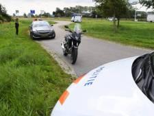 Motorrijder gewond bij aanrijding Haamstede