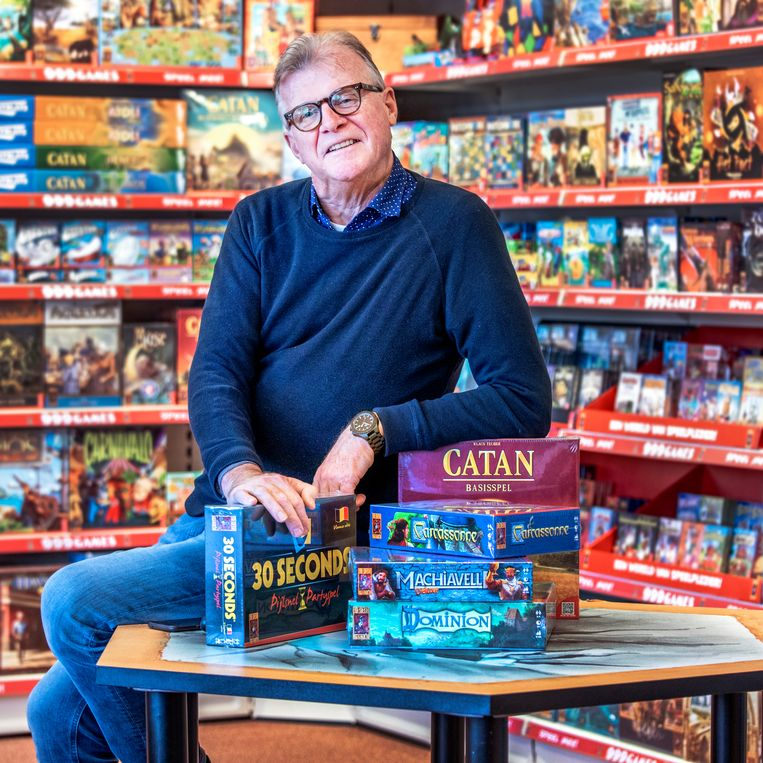 Directeur en oprichter van 999 Games Michael Bruinsma. Beeld Raymond Rutting.