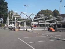 Willem II plaatst grote 'VIP-tent' voor sponsors op parkeerplaats bij het stadion