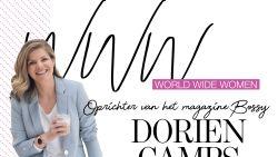 """Ondernemer Dorien Camps: """"Alles alleen willen doen is niet meer van deze tijd"""""""