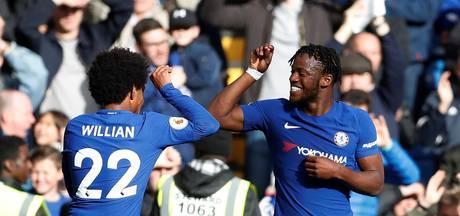 Zwalkend Chelsea voorkomt nieuw puntverlies met late treffers