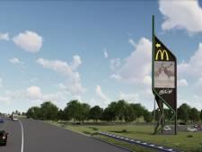 Met toch een nieuw ontwerp kan A1-reclamemast bij Apeldoorn-Zuid er eindelijk komen