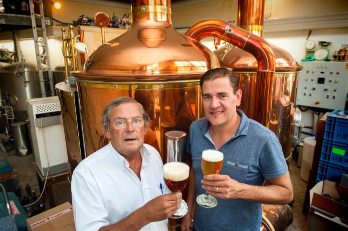 Jan van Kollenburg sr. en Jan van Kollenburg jr, brouwmeesters van Brouwerij Van Kollenburg
