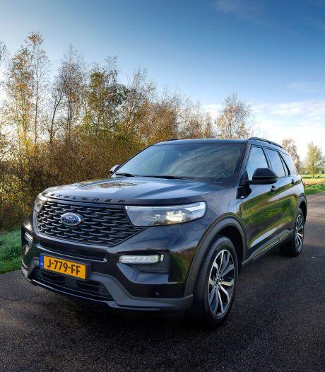 Test Ford Explorer: sterke rentree als plug-inhybride
