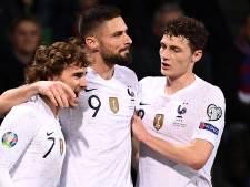 Frankrijk start kwalificatiereeks met eenvoudige avond in Moldavië