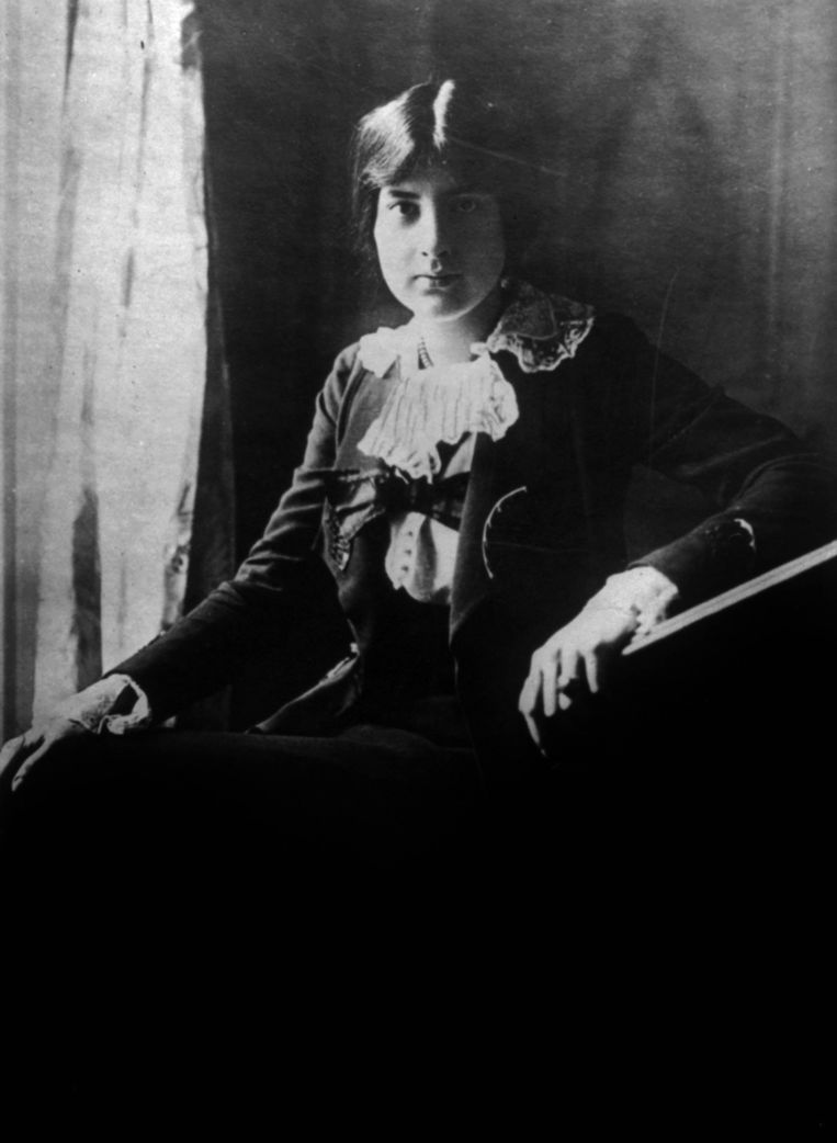 Franse componist Lili Boulanger (1893-1918). Beeld Hulton Archive