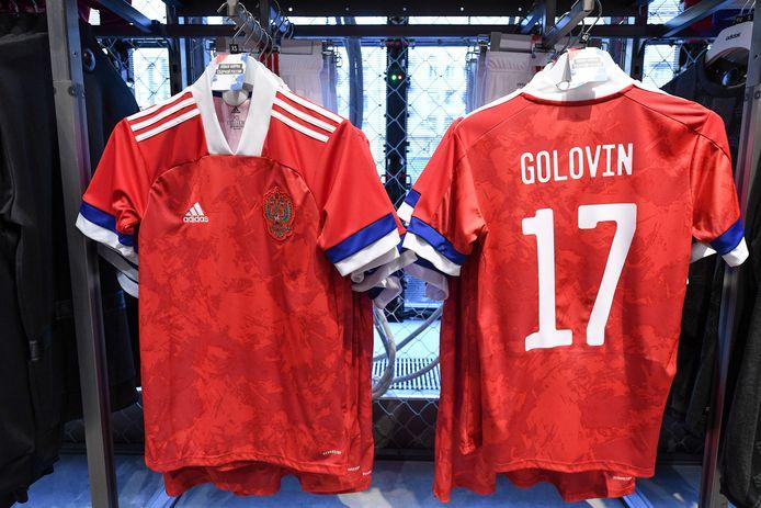 De omstreden Russische shirts.