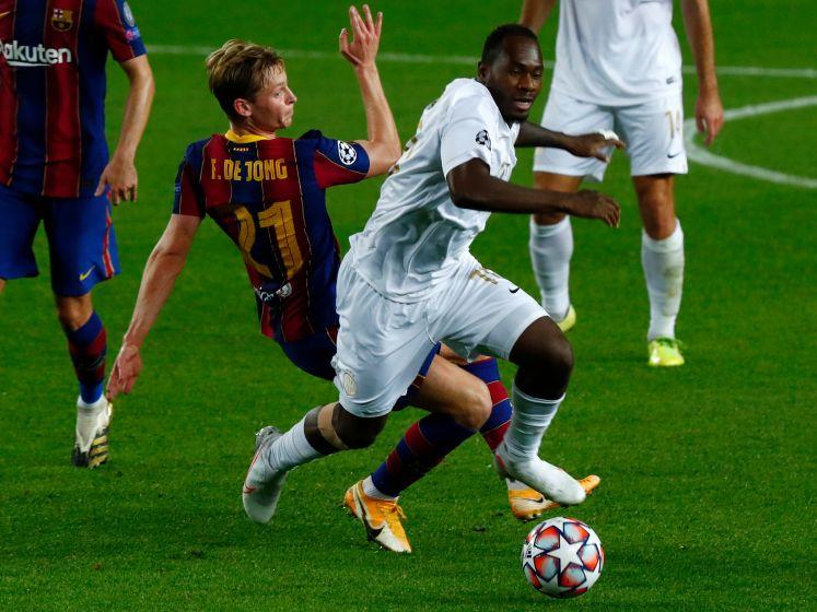 FC Barcelona heeft geen enkele moeite met Ferencvaros