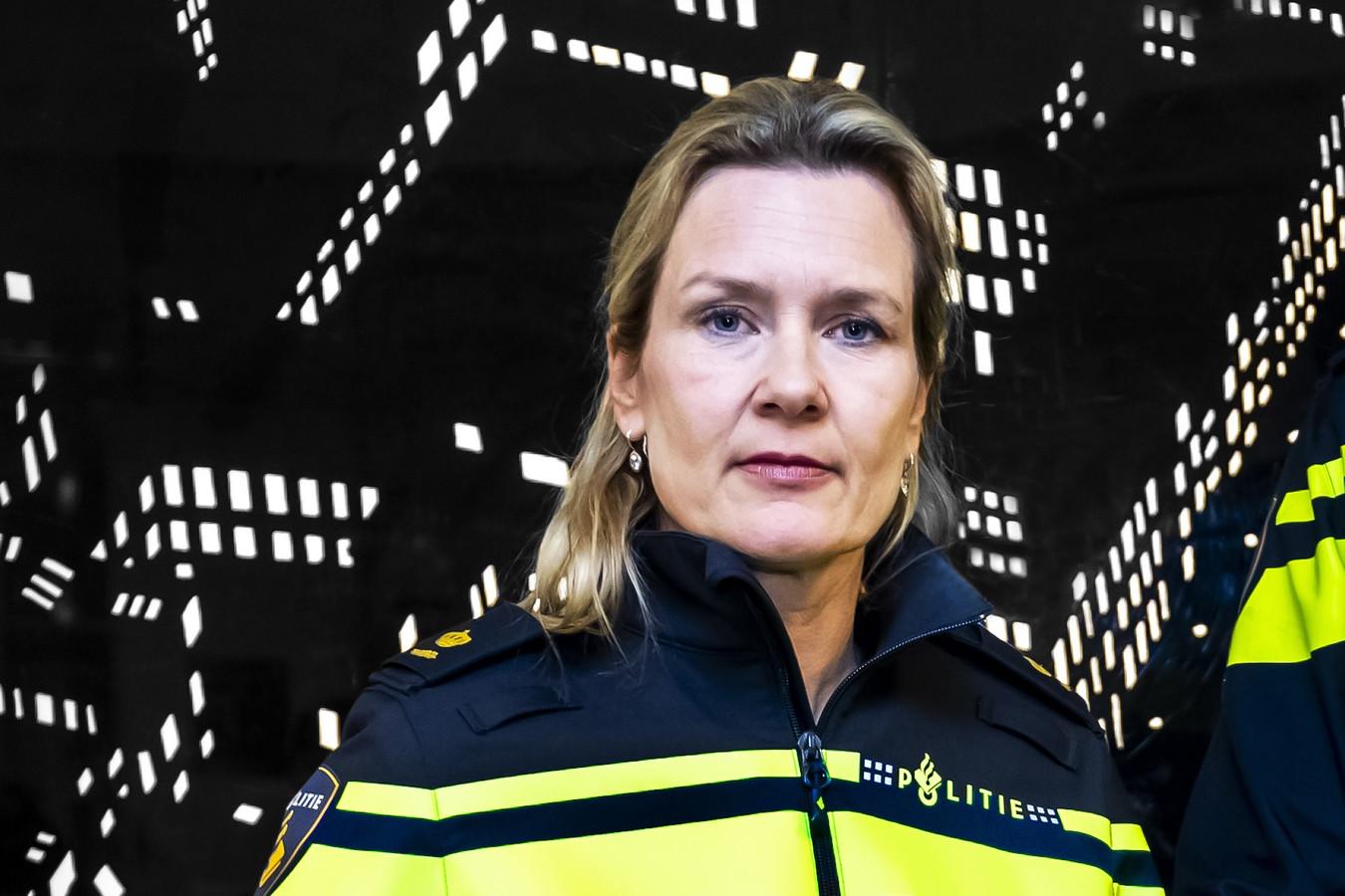 Liesbeth Maas, hoofd van de politie in de stad Utrecht.