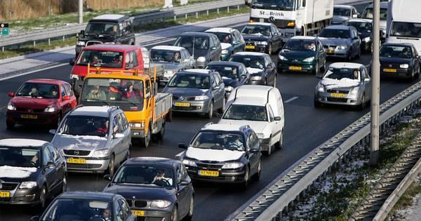 Grote drukte op Gelderse snelwegen na meerdere ongelukken.