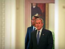 Een gesprek tussen president Bush en zijn opvolger Obama: 'Even was ik sprakeloos'