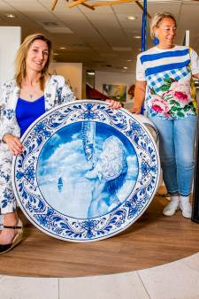 Kunst rond Delfts blauw in de Oudewaterse Galerie Sille