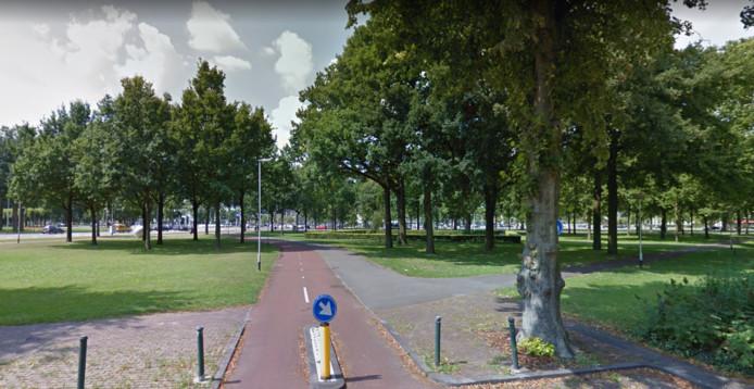 Politie heeft een vuurwapen bij een groepje gevonden dat in het park stond.
