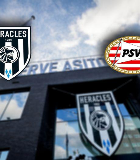 Heracles na 'Watergate' op zoek naar eerherstel tegen koploper PSV