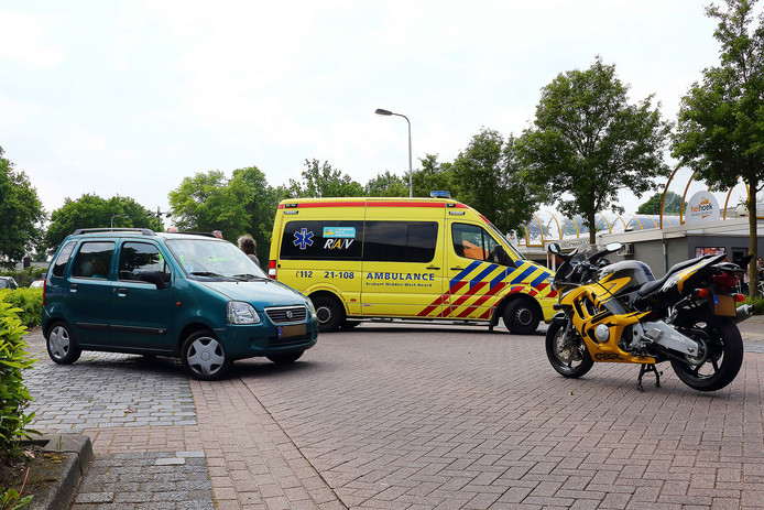 Motorrijder gewond bij botsing in Oss