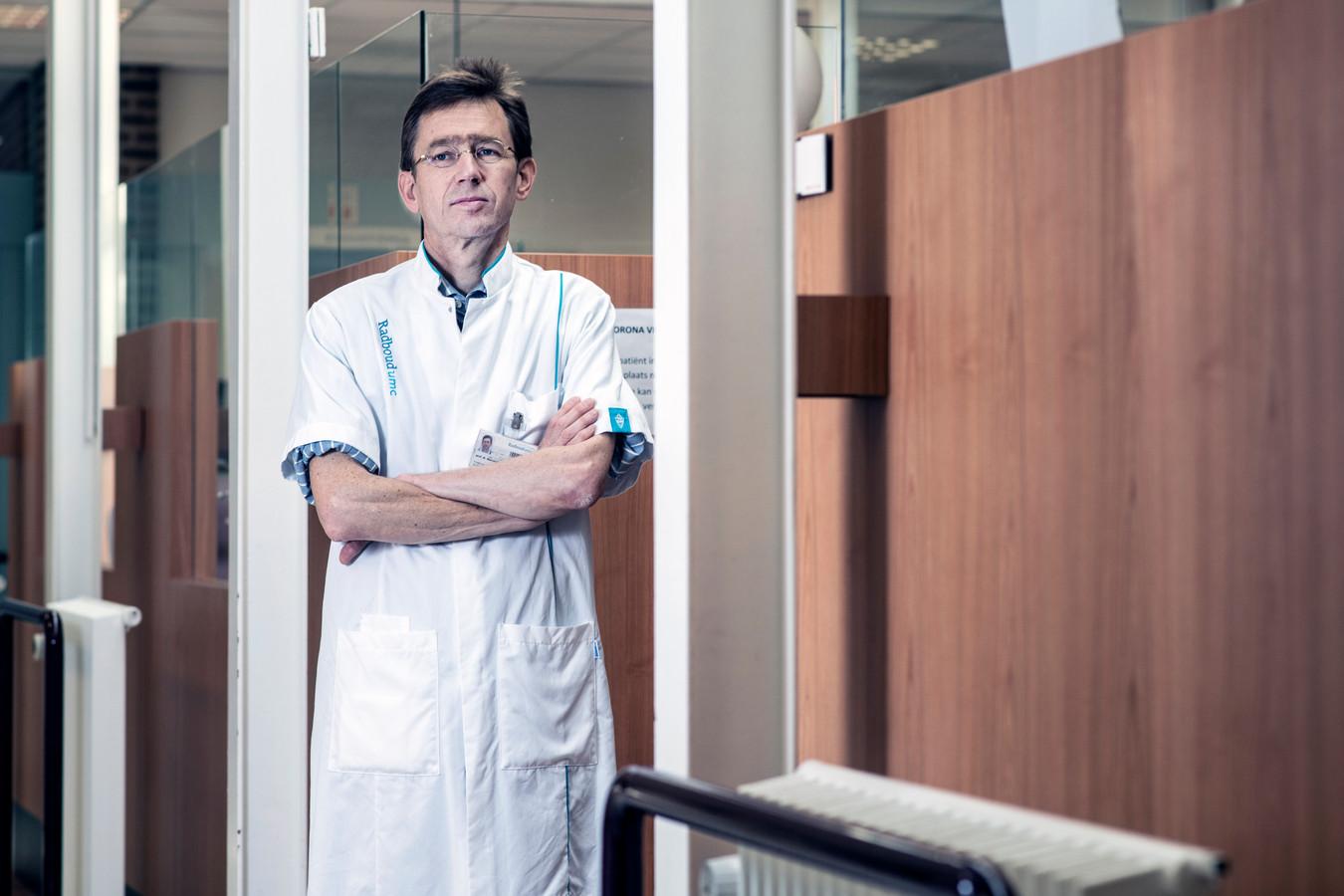 Hoogleraar ouderengeneeskunde Marcel Olde Rikkert.