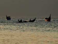 Naaldvis springt uit de zee en doorboort nek jonge visser