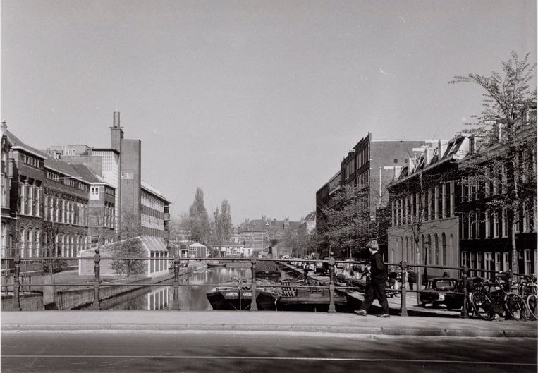 Roetersstraat in 1959. Beeld Arsath Ro'is, J.M.