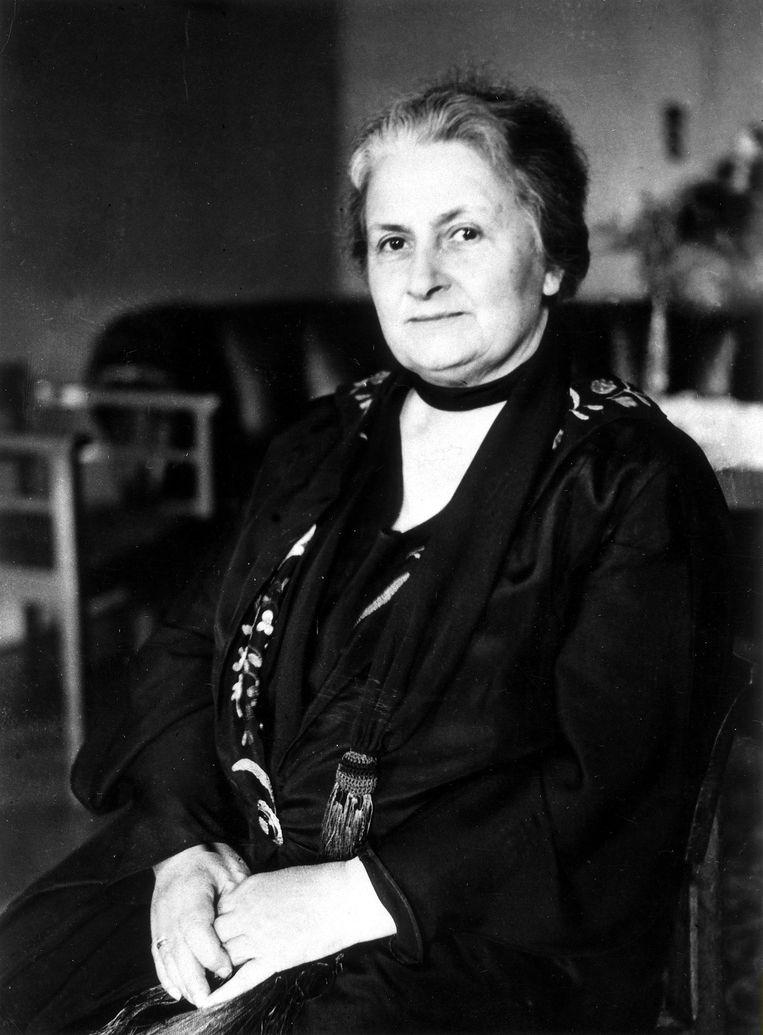 Maria Montessori (1870-1952) Beeld Getty Images