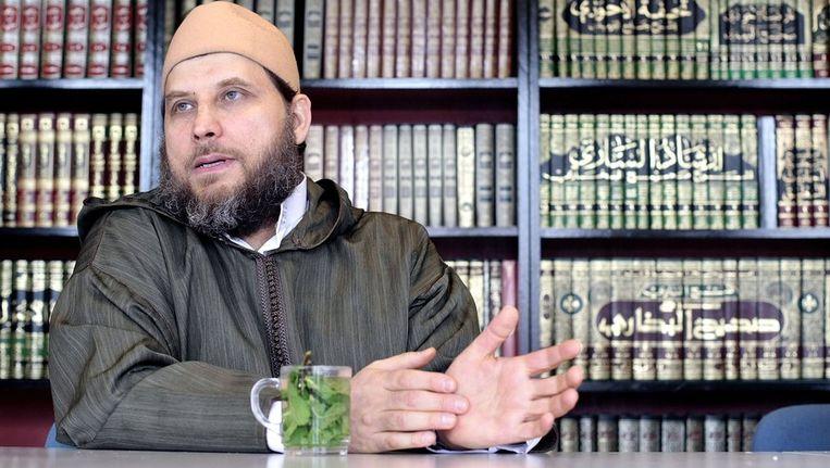 Imam Sjeik Fawaz Jneid in 2008. Beeld anp