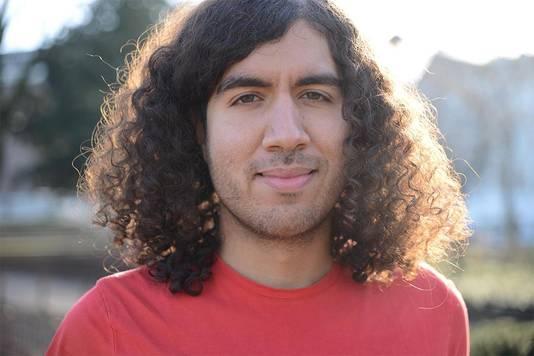 De Marokkaans-Nederlandse filmmaker Aiman Hassani.
