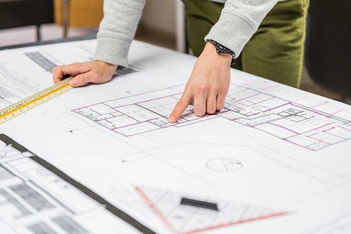 Une habitation sur plan fait souvent partie d'un projet constitué de plusieurs lots. Vous achetez pour ainsi dire une habitation dans un quartier ou un immeuble à construire.