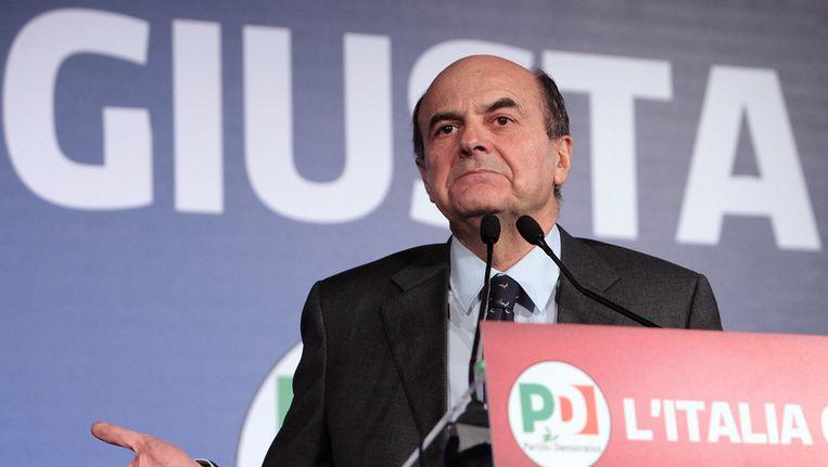Pier Luigi Bersani Beeld getty