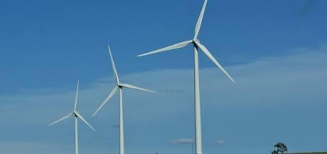 Plan voor windmolens op Valkenswaards grondgebied, tussen Borkel en Bergeijk