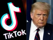 Trump tekent decreet dat transacties met TikTok verbiedt