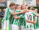 Kloetinge heeft een heel goede eerste helft, FC Axel en Duiveland juist een slechte