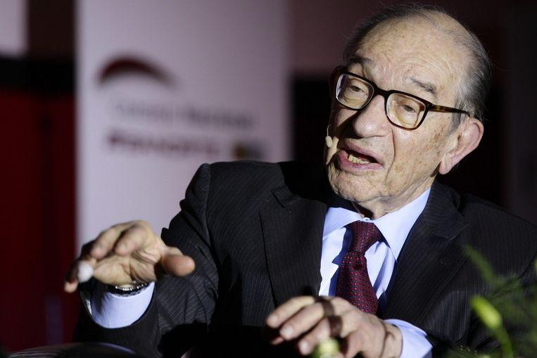 Alan Greenspan. Beeld ANP