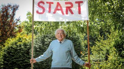 103-jarige dokter die marathon stapt tegen corona krijgt nu ook het ereburgerschap in Rotselaar