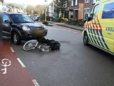Fietser gewond bij aanrijding met auto in Hengelo