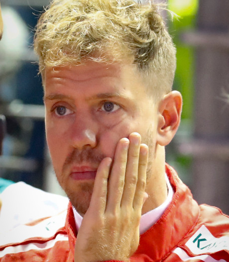 Titel nog verder weg voor Vettel: 'Lewis had niet verwacht tien punten uit te lopen'
