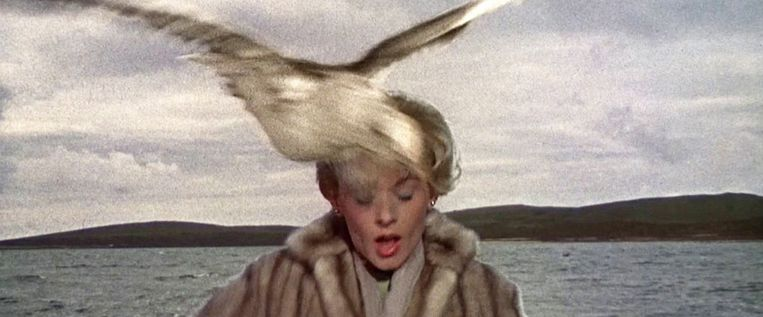 The Birds, Alfred Hitchcock, 1963. Beeld