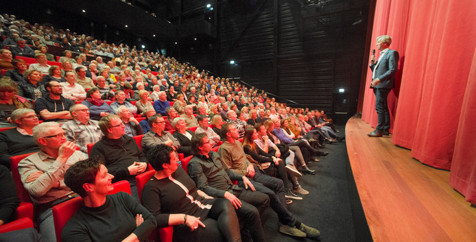 Voorzitter Martien van den Hoven van de stichting Cultuurfabriek in Veghel.