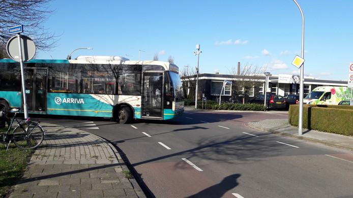 Bus Arriva rijdt alternatieve route door Haaksbergen.