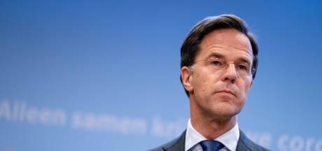 Reactie op protestbord over Rutte: 'Ik werd bij de foto compleet onpasselijk'