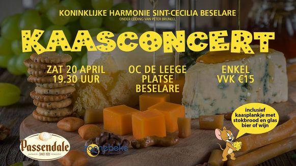 kaasconcert Beselare